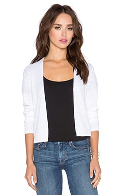 Theory Ganes Cardigan in White