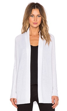 Theory Ashtry J Cardigan in Ivory