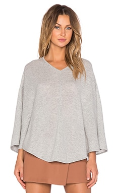 Theory Florencia V Poncho in Light Heather