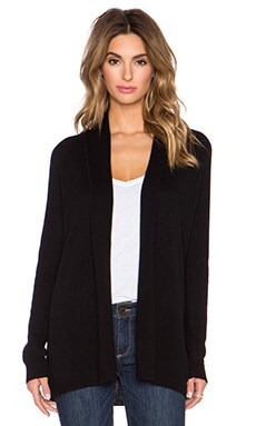 Theory Ashtry J Cardigan in Black