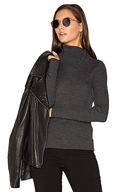 Leendelly Sweater en Charcoal