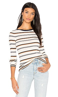 Mirzi M Sweater in Ivory Stripe