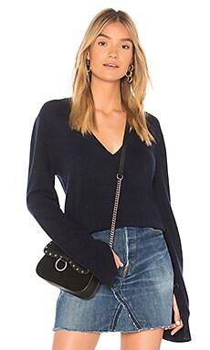 Купить Пуловер - Theory синего цвета