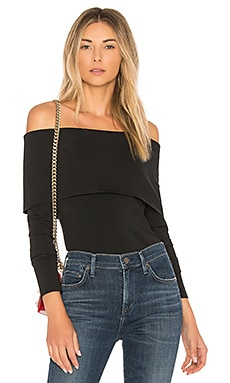 Off The Shoulder Jersey Top