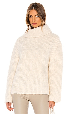 Fold Over Neck Sweater Theory $465