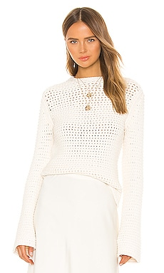 Mesh Knit Sweater Theory $395 NEW ARRIVAL