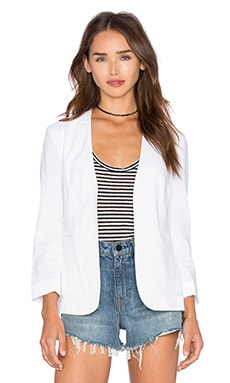 Theory Lindrayia Crunch Blazer in White