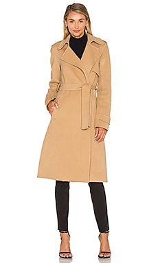 Theory Oaklane Trench Coat in Palomino