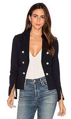 Jontia K Blazer in Navy