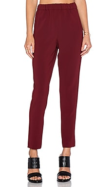 Theory Thorene Pant in Cherrywood