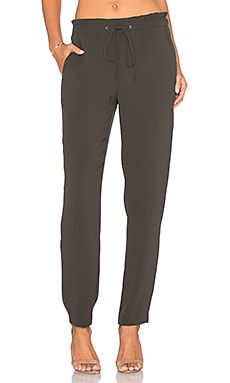 Theory Tralpin Pant in Calla Green