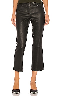 Leather Bristol Crop Pant Theory $1,195 NEW ARRIVAL