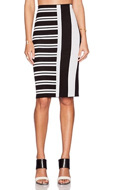 Theory Efersten Skirt in Black & White