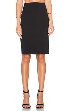 Theory Pencil Skirt in Black