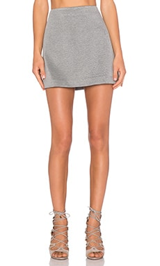 Theory Kerash Mini Skirt in Black & White