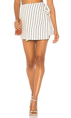 Wrap Tie Skirt