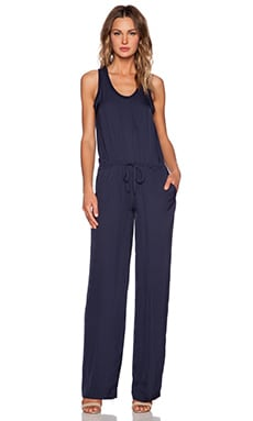 Theory Zinena Jumpsuit in Light Navy