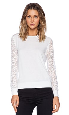 Theory Vessra Exhibit Top in White