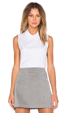 Theory Marbie Top in White