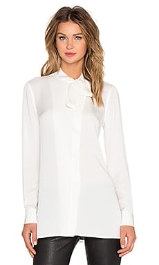 Theory Hanya Blouse in Ivory