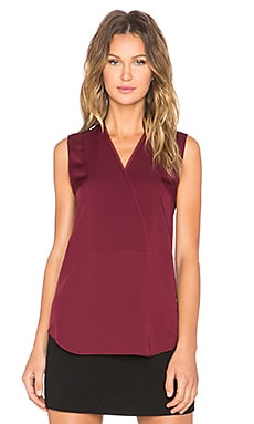 Theory Taneah Tank in Cherrywood