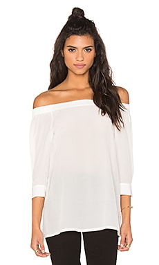 Theory Joscla Top in Ivory