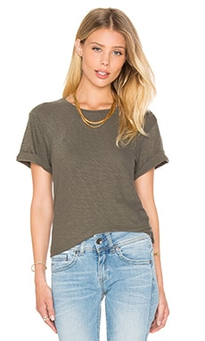 Theory Leibay Tee in Moss