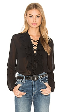 Theory Rianala Blouse in Black