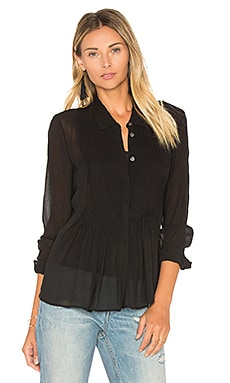 Dionelle Button Up in Black