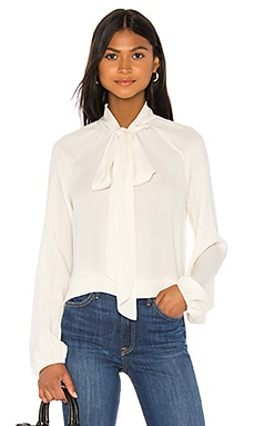 Scarf Top Classic Blouse Theory $345