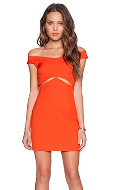 Three of Something Regal Dress in Atomic Tangerine