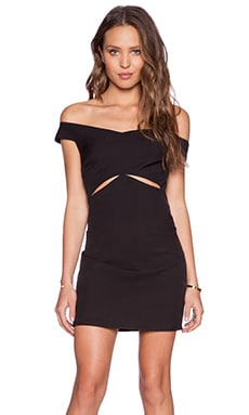 Three of Something Regal Dress in Black