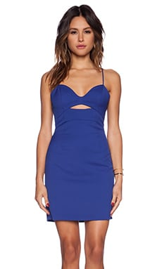 Three of Something Intuition Dress in Cobalt