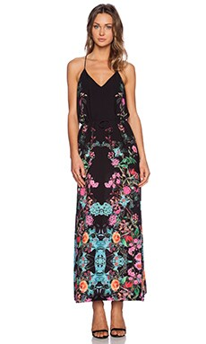 Three of Something Royals Maxi Dress in Royals Black