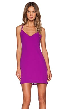 Three of Something Directions Mini Dress in Magenta