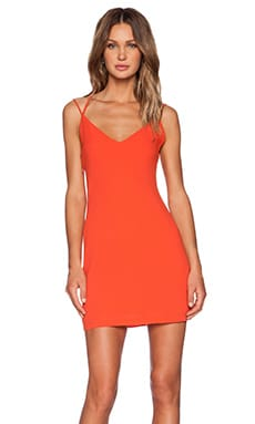 Three of Something Directions Mini Dress in Tangerine