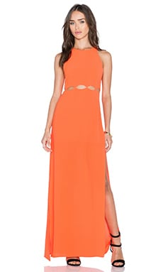 Three of Something Hero Maxi Dress in Tangerine