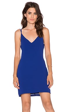 Three of Something Directions Mini Dress in Cobalt