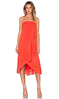 Three of Something Kaya Maxi Dress in Poppy