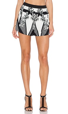 Three of Something New Order Darlings Short in New Order Print & Black