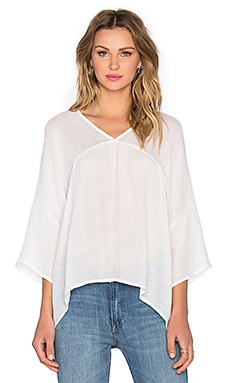 Three of Something Genisis Top in White