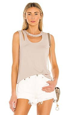 Piper Cut Out Tank the hour $62
