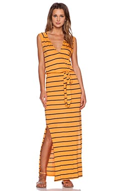 three dots Maxi Dress in Amber