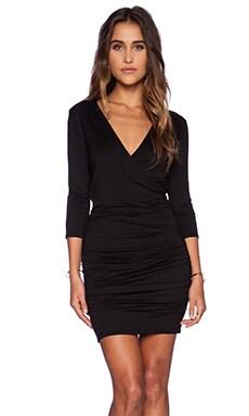 three dots Bodycon Dress in Black