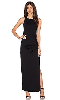 three dots Maria Maxi Dress in Black