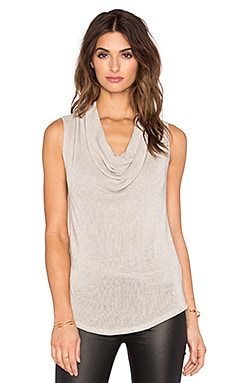 three dots Emma Sleeveless Sweater in Natural