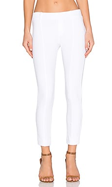 three dots Shirley Cropped Pant in White