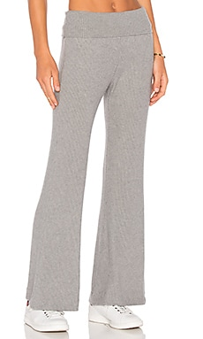 three dots Thia Rib Sweatpant in Granite
