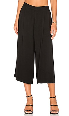 three dots Blake Culotte Pant in Black
