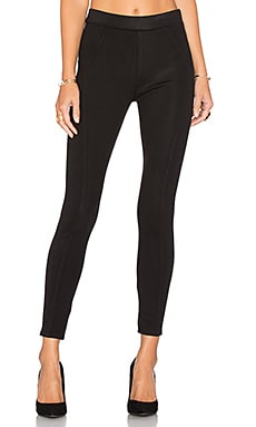 Seamed Leggings in Onyx